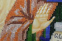 Набор для вышивки бисером икона Святая Аполлинария (Полина), фото 2