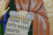 Набор для вышивки бисером икона Святая Аполлинария (Полина), фото 3
