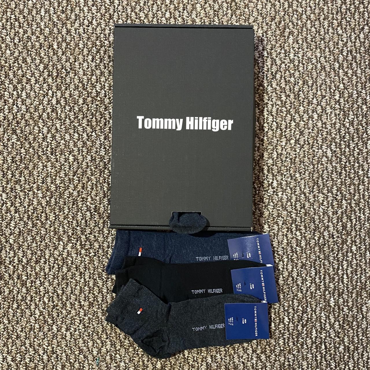 Шкарпетки низької посадки Tommy Hilfiger набір - чудовий подарунок