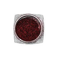 Втирка для нігтів Mirror Red B08