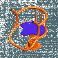 Качалка на пружинке «Трон»