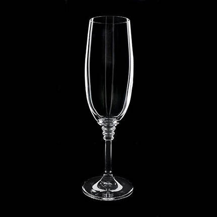 Набор бокалов для шампанского (190 мл/6шт.) BOHEMIA Olivia 3049, фото 2