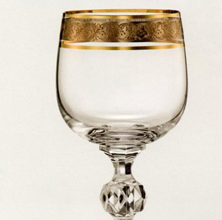 Набор бокалов для шампанского (180 мл/6шт.) BOHEMIA Claudia 4645, фото 2