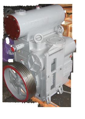 Насос АВЗ-125 Д вакуумный золотниковый