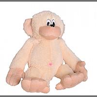Мягкая плюшевая игрушка обезьянка, размер - 55 см. Популярная игрушка. Милая красивая игрушка. Код: КЕ463