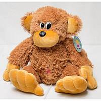 Мягкая плюшевая игрушка обезьянка, размер - 75 см. Популярная игрушка. Милая красивая игрушка. Код: КЕ463-1