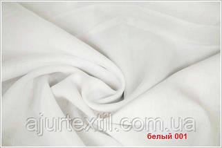 Вуаль однотонный (белый) Турция, фото 2