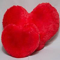 Мягкая подушка в форме сердца, размер - 75 см. Популярная игрушка. Милая красивая игрушка. Код: КЕ464-2