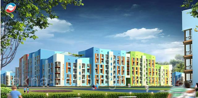 Остекление квартиры Цена, Остекление квартиры ПВХ, остекление квартиры киев,