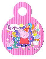"Медали ""Peppa Pig"". В упак: 10шт. Диаметр: 75мм. Материал: Картон."