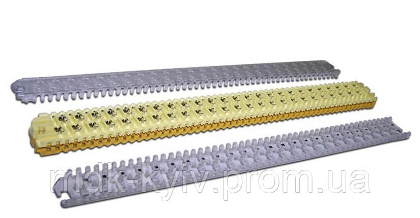 3M MS 4000-G/TR ― Модульный соединитель проводов на 25 пар, d=0.32...0.9мм, с гелем (аналог TE AMP STACK III)