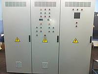 Шкаф управления дымососом и вентилятор 11 и 30 кВт