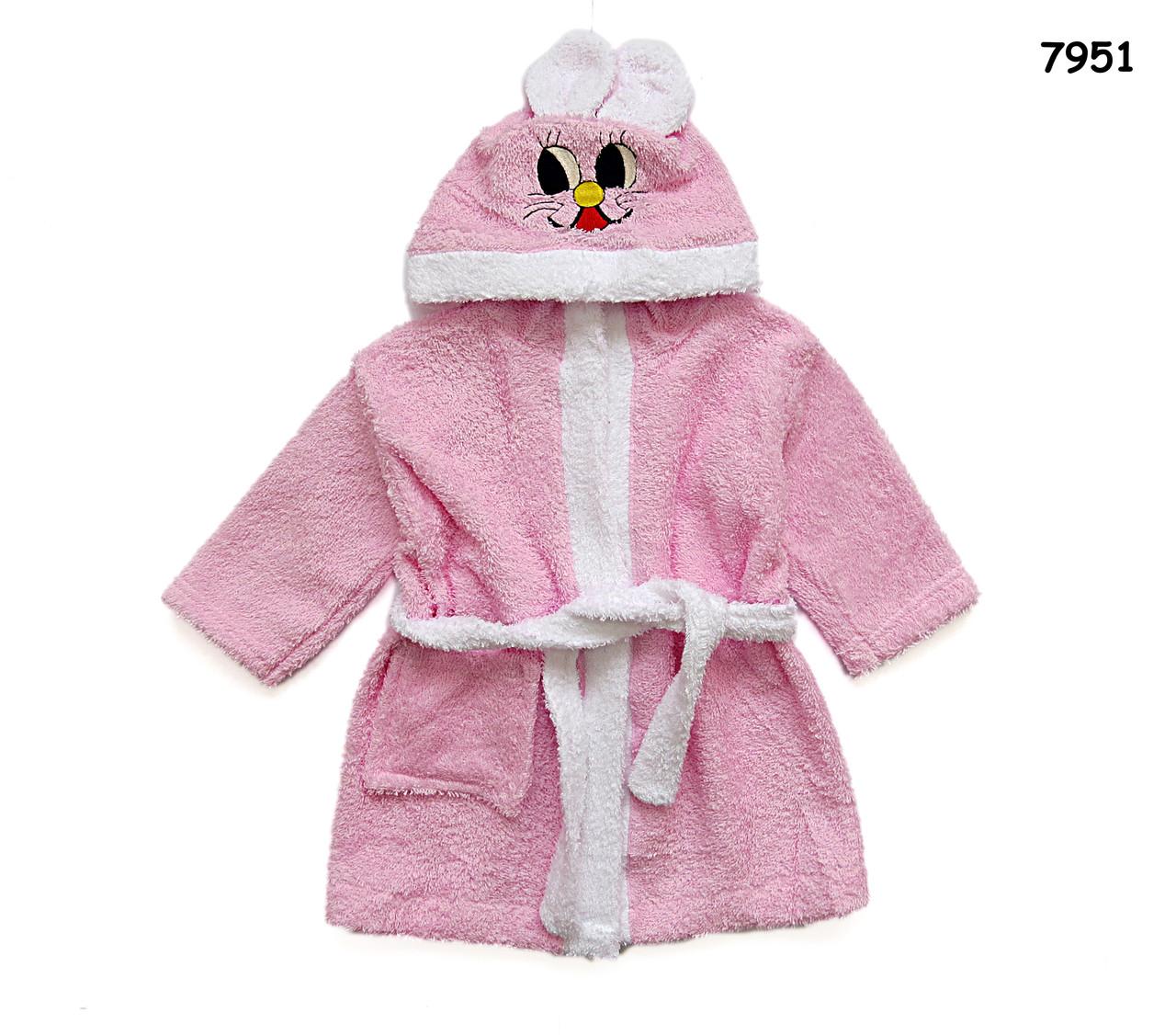 """Халат """"Зайка"""" для девочки. 4 года - Детская одежда и товары """"ZEBRA-STAR"""" в Виннице"""