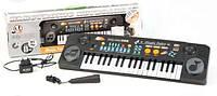 Детский синтезатор MQ-803USB с микрофоном