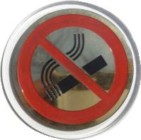 """Табличка """"Курение запрещено"""" настенная пластиковая"""