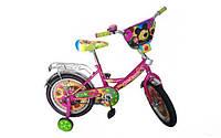 Мустанг Маша и Медведь Mustang 12дюймов для девочки двухколесный велосипед