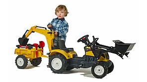 Детский трактор на педалях Falk 2055CN RANCH TRAC, фото 3
