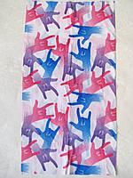 Летний бафф, buff, бесшовный шарф, повязка (#05)