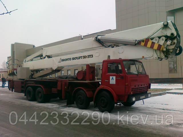 Автогидроподъёмник АГП-50 | Автовышка 50 метров