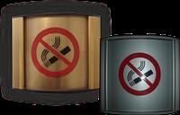 """Табличка """"Курение запрещено"""" настенная из алюминиевого профиля"""