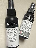 Сияющий спрей-фиксатор NYX Dewy Finish