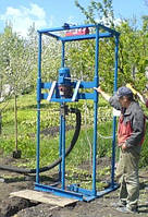 Бурение водозаборных скважин малогабаритными буровыми установками
