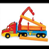 Игрушечная машинкаТягач-трубовоз из серии Super Truck Wader 36540