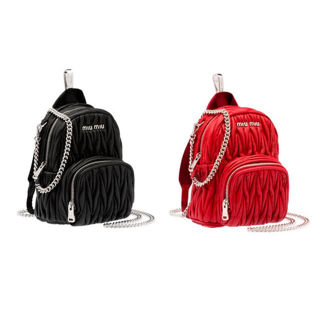 Рюкзак Miu Miu | вид спереди.