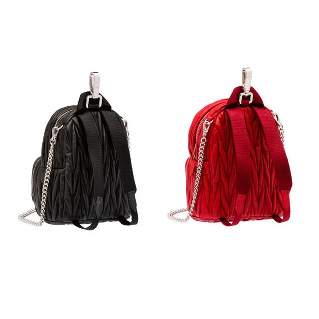 Рюкзак Miu Miu | вид сзади.