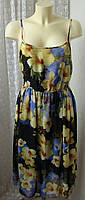 Платье женское легкое летнее сарафан бренд New Look р.46 5354
