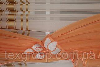 Ламбрекен со шторой универсальный размер Джулия, фото 3