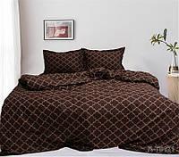 Евро комплект постельного белья ренфорс 100% хлопок Турция R-T9121