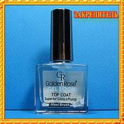"""""""Golden Rose Rich Color"""" Gel Look Top Coat Закрепитель лака для ногтей, 10,5 мл.,"""