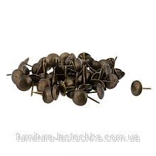 Гвозди мебельные декоративные (01-30)