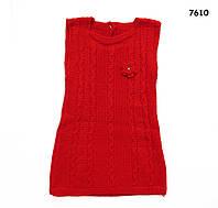 Вязаное платье для девочки. 1 год, фото 1