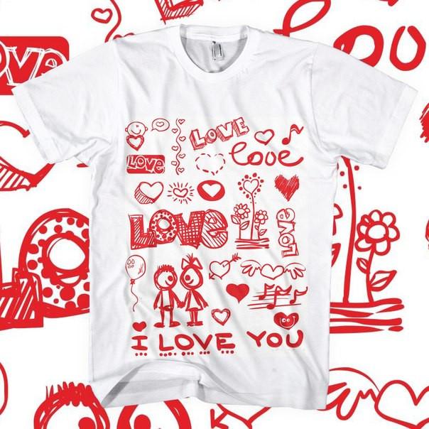 "Футболка ""I Love You"""