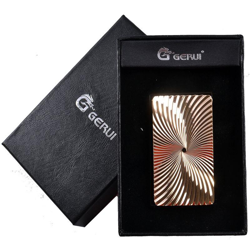 Электроимпульсная USB зажигалка Gerui №4341