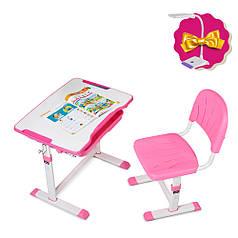 Зростаюча дитяча парта зі стільчиком Cubby Sorpresa Pink