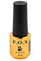 Базовое покрытие для ногтей FOX Base Coat, 6 мл