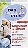 Вітаміни DAS gesunde PLUS Magnesium + Calcium + D3, Tabletten, 45 St