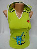 Майки молодежные купить с капюшоном на лето, фото 1