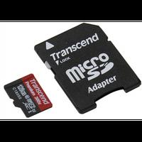 Карта памяти TRANSCEND microSDXC 128GB Class 10 UHS-I PremiumX300 c адаптером