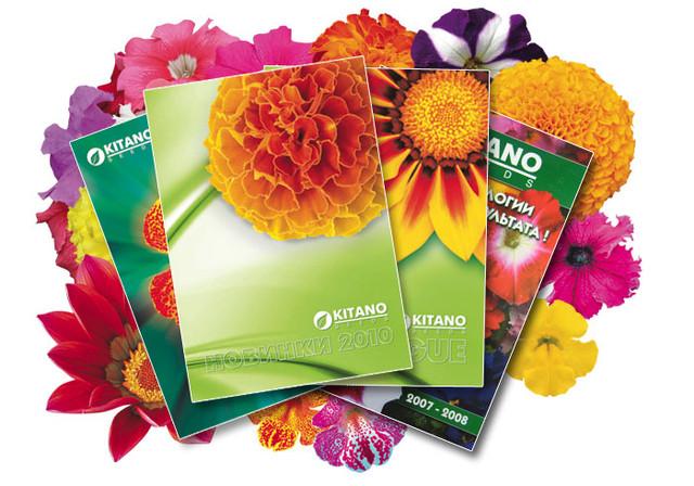 Голландские семена цветов в профессиональной упаковке