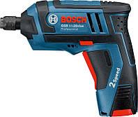 Аккумуляторная отвертка Bosch GSR Mx2Drive