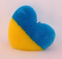 Сердце плюшевое мягкое 46 см.