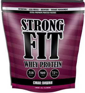 Протеїн Strong Fit Whey Protein - 909 г, фото 2