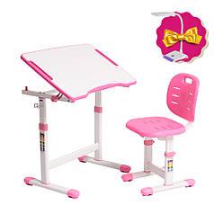 Комплект парта + стілець трансформери Omino Pink FunDesk