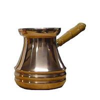 Медная джезва для кофе 450 мл со съемной ручкой