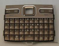 Клавиатура для Nokia E72, Original, Бронза /Кнопки/Клавиши /нокиа