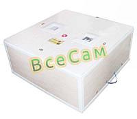Инкубатор механический цифровой «Курочка Ряба» ИБ-130 вместимостью 130 яиц с двойным пластиковым корпусом